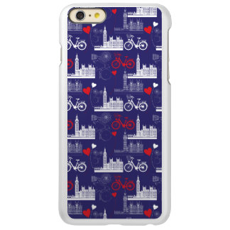 London Landmarks Pattern iPhone 6 Plus Case