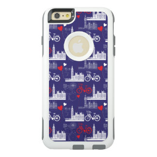 London Landmarks Pattern OtterBox iPhone 6/6s Plus Case