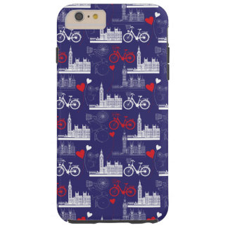 London Landmarks Pattern Tough iPhone 6 Plus Case