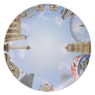 London Landmarks Plate