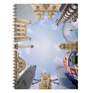 London Landmarks Spiral Notebook