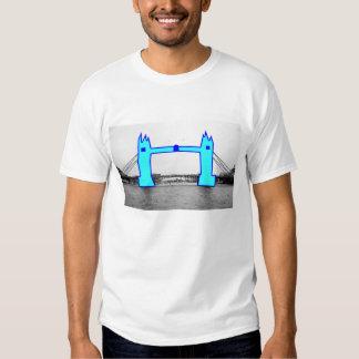 London Landmarks - Tower Bridge Tee Shirts
