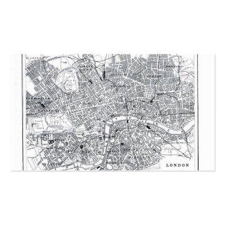 London Map Pack Of Standard Business Cards