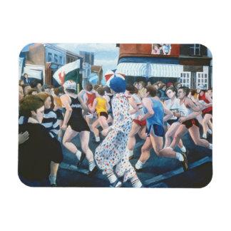 London Marathon 1996 Rectangular Photo Magnet