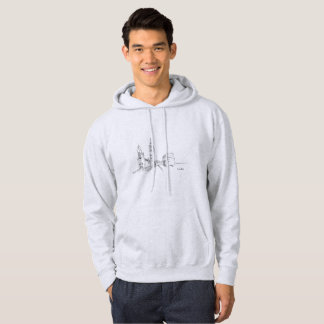 London Modern Stylish Sketch Elegant Big Ben Cool Hoodie