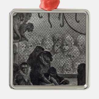 London' Monkeys Christmas Ornament