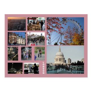London multi-image postcard