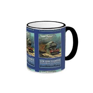 London  New York Great Western Railway Coffee Mugs