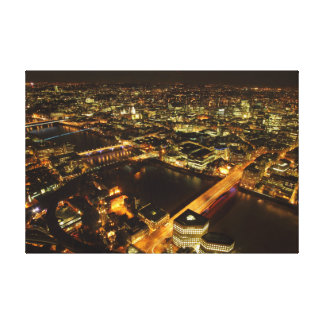 London night skyline canvas prints