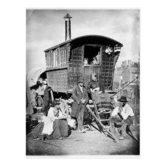 London Nomades, c.1876 Postcard
