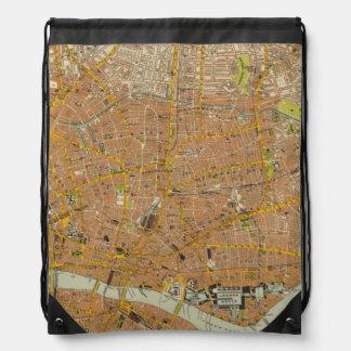 London Northeast Drawstring Bag