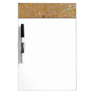 London Northeast Dry Erase Board