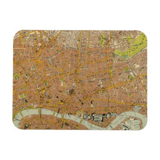 London Northeast Vinyl Magnet
