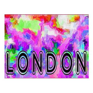 London Nottinghill Carnival celebrations postcard