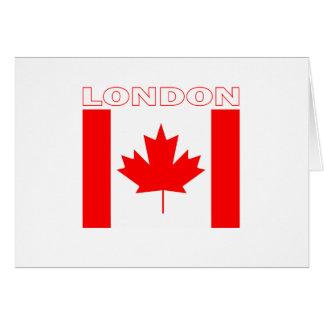 London Ontario Greeting Card