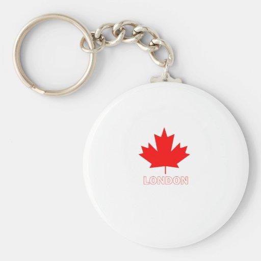 London, Ontario Key Chains