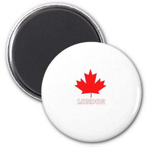 London, Ontario Refrigerator Magnet