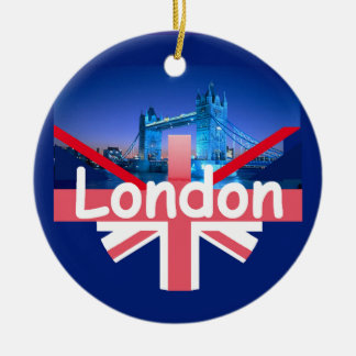LONDON Orament Christmas Ornament