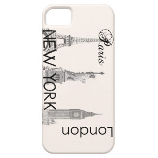 London, Paris, New York Case For The iPhone 5