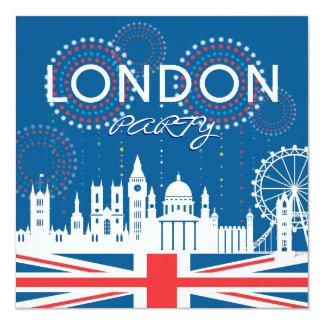 London Party Invitation