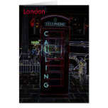 London Phone Booth Notecard Cards