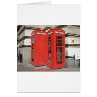 London Phone Booth Products Card