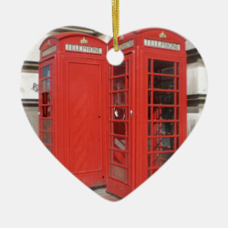 London Phone Booth Products Christmas Ornament