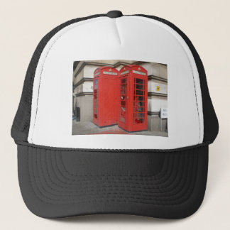 London Phone Booth Products Trucker Hat