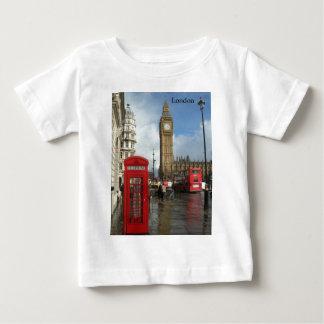 London Phone box & Big Ben (St.K) Baby T-Shirt