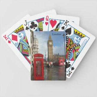 London Phone box & Big Ben (St.K) Bicycle Playing Cards