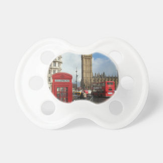 London Phone box & Big Ben (St.K) Pacifier