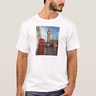 London Phone box & Big Ben (St.K) T-Shirt