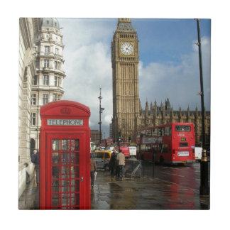 London Phone box & Big Ben (St.K) Tile