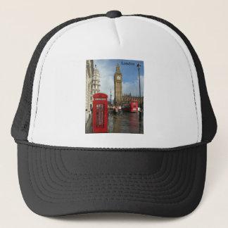 London Phone box & Big Ben (St.K) Trucker Hat