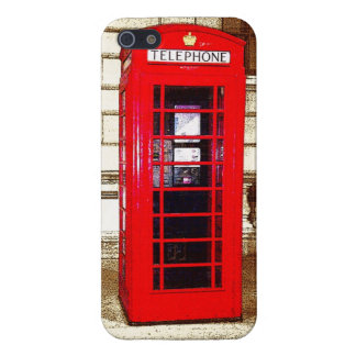 London Phone Box (poster edge effect) Case For iPhone 5/5S
