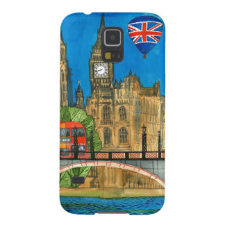 London phone case galaxy s5 cover