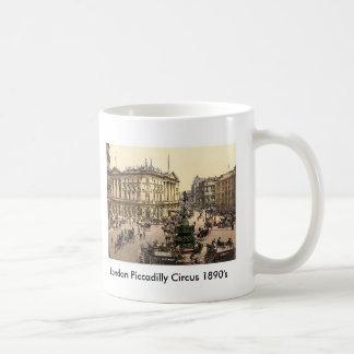 London Piccadilly Circus 1890's Mug