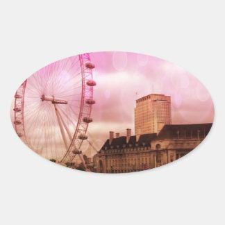 london pink effekt jpg sticker