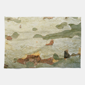 London plane tree wood bark nature plant texture tea towel