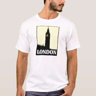 London Postcard Style Design T-Shirt