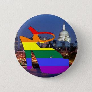 London Pride 6 Cm Round Badge