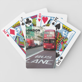 London Red Bus (St.K) Bicycle Playing Cards