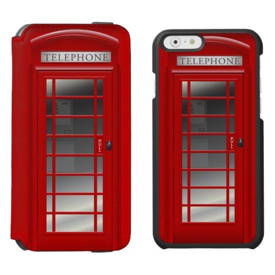 London Red Phone Booth Call Box Incipio Watson™