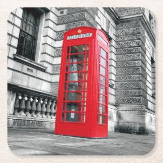 London Red Phone Box Coaster