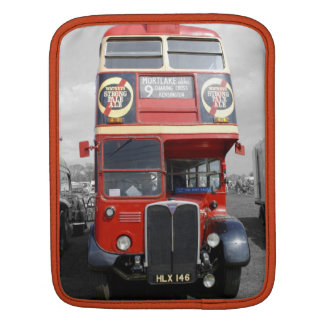 London Red Red Bus iPad Sleeve