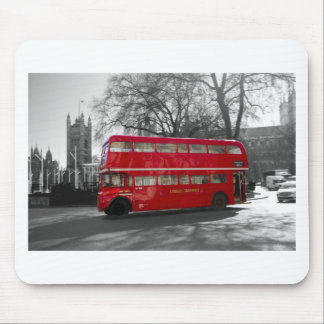 London Red Routemaster Bus Mouse Mat