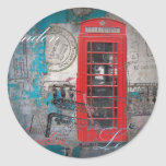 London red telephone booth Landmark Vintage