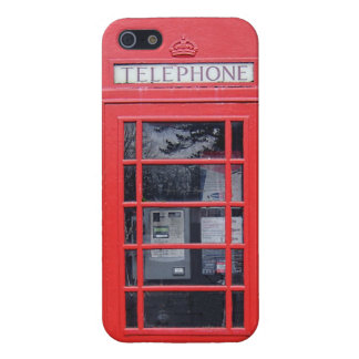 London Red Telephone Box Case For The iPhone 5