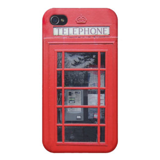 London Red Telephone Box iPhone 4/4S Covers