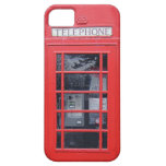 London Red Telephone Box iPhone 5 Cases